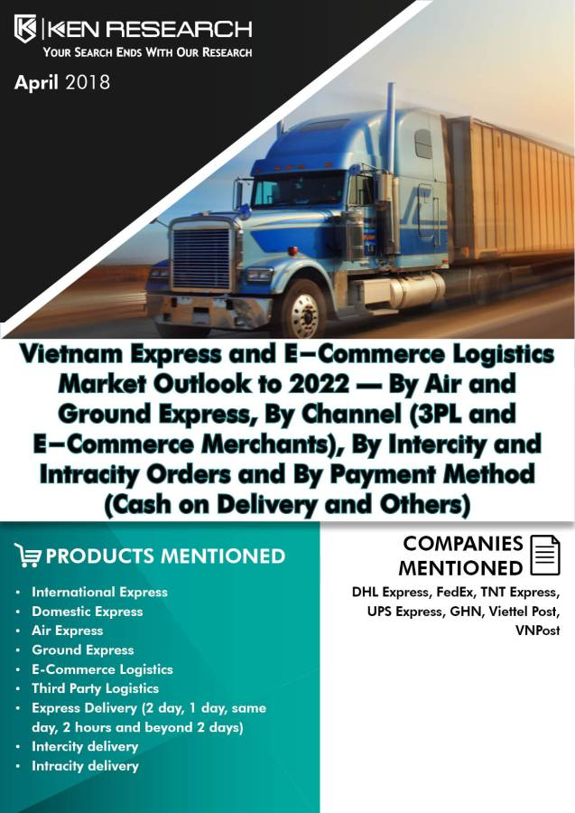 Vietnam E-Commerce Logistics Market is Expected to Reach over USD 990 Million by 2022: Ken Research
