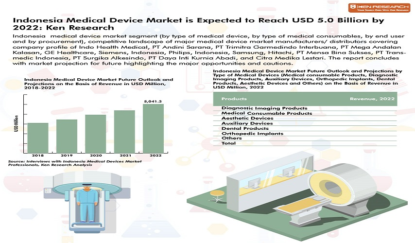Indonesia Medical Devices Market Research Report to 2022: Ken Research