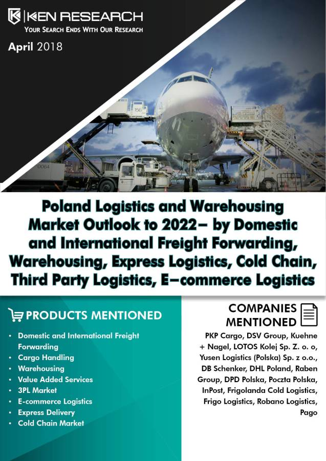 Poland Logistics Market will be Driven by Increasing Consumption, Growth of the Manufacturing Sector, E-commerce, Retail and FMCG Coupled with rise in Trade Activities with Europe: Ken Research