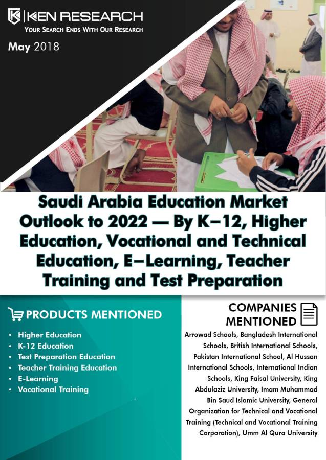 Saudi Arabia Education Industry is Driven by Rising Investments, Number of Students Opting for Private Tuitions and Growing Scholarship Programs in the Kingdom: Ken Research