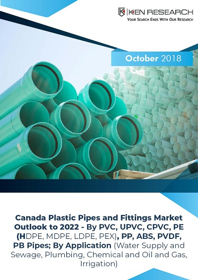 Canada Plastic Pipes and Fittings Market Driven by Increase in Acceptance of Plastic Pipes in Various End-User Industries and Growing Infrastructure Projects: Ken Research