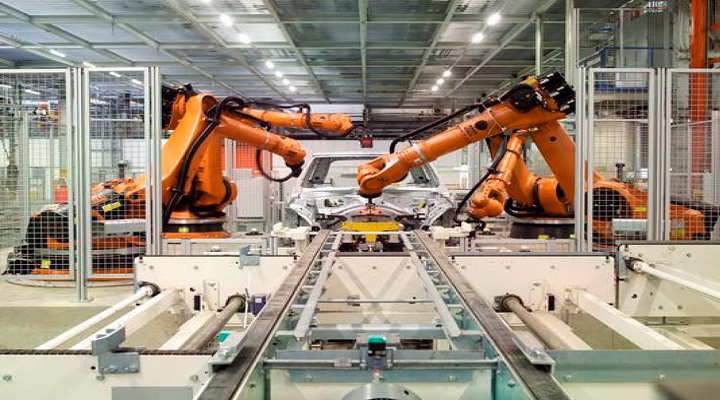 Technically Programmed Compact Robots to Propel Metal Industrial Robots : KenResearch