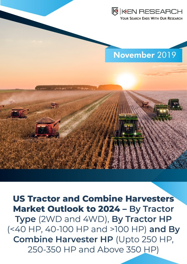 The US tractor and Combine Harvester Market is Driven by Technological Advancements, Increasing Competition, Rising Wages of Farmers and New Government Initiatives: Ken Research