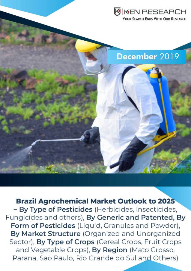 Brazil Agrochemical Market Driven by Rise in Farming income, Surge in Companies' R&D expenditure and Increasing Farmers Awareness of Pesticide Usage: KenResearch