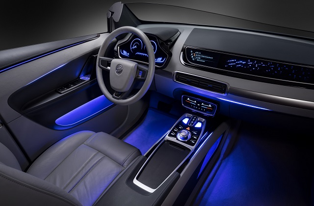 North America Automotive Interior Lighting Market